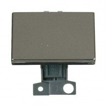 Click MiniGrid MD009BN Black Nickel 2 Way Paddle Switch Module