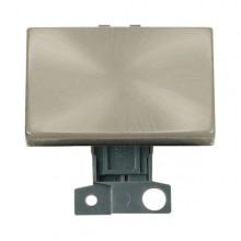 Click MiniGrid MD009SC Satin Chrome 2 Way Paddle Switch Module