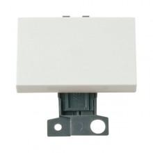 Click MiniGrid MD009WH White 2 Way Paddle Switch Module