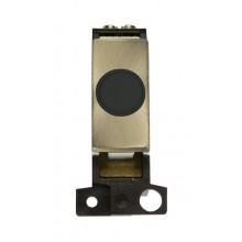 Click MiniGrid MD017BKAB Black Antique Brass 20A Flex Outlet Mod