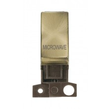 Click MiniGrid MD018ABMW Antique Brass DP Microwave Module