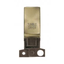 Click MiniGrid MD018ABTD Antique Brass DP Tumble Dryer Module