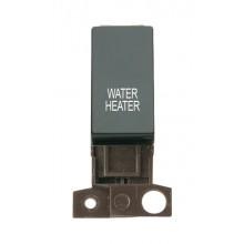 Click MiniGrid MD018BKWH Black 13A DP Water Heater Switch Module