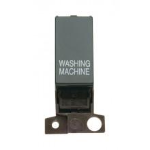 Click Minigrid 10A Switch DP Resistive Module Black MD018BKWM