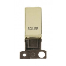 Click MiniGrid MD018BRBL Polished Brass DP Boiler Module
