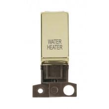 Click MiniGrid MD018BRWH Polished Brass DP Water Heater Module