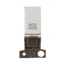 Click MiniGrid MD018CHWH Polished Chrome DP Water Heater Module