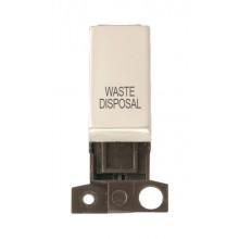 Click MiniGrid MD018PNWD Pearl Nickel DP Waste Disposal Module