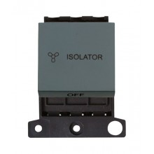 Click MiniGrid MD020BK Black 3 Pole Fan Isolator Switch Module