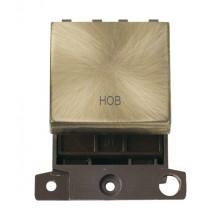Click MiniGrid MD022ABHB Antique Brass 20A DP Hob Switch Module