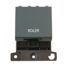 Click MiniGrid MD022BKBL Black 20A DP Boiler Switch Module
