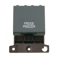 Click MiniGrid MD022BKFF Black 20A DP Fridge Freezer Switch Mod