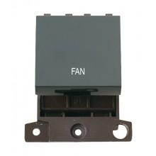 Click MiniGrid MD022BKFN Black 20A DP Fan Switch Module