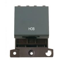 Click MiniGrid MD022BKHB Black 20A DP Hob Switch Module