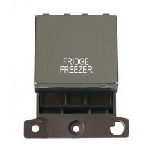 Click MiniGrid MD022BNFF B/Nickel 20A DP Fridge Freezer Sw Mod