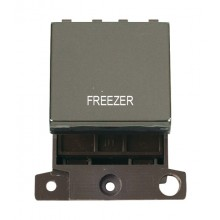 Click Minigrid 20A Switch Ingot DP 2 Module Black Nickel MD022BNFZ