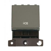 Click Minigrid 20A Switch Ingot DP 2 Module Black Nickel MD022BNHB