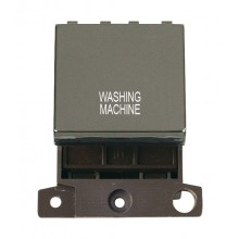 Click MiniGrid MD022BNWM B/Nickel 20A DP Washing Machine Sw Mod