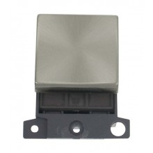 Click MiniGrid MD022BS Brushed Steel 20A DP Switch Module