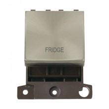 Click MiniGrid MD022BSFD B/Steel 20A DP Fridge Module