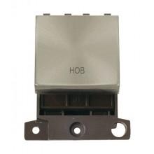 Click MiniGrid MD022BSHB Brushed Steel 20A DP Hob Module