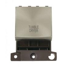 Click MiniGrid MD022BSTD B/Steel 20A DP Tumble Dryer Module