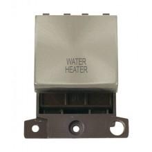 Click MiniGrid MD022BSWH B/Steel 20A DP Water Heater Module