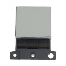 Click MiniGrid MD022CH Polished Chrome 20A DP Switch Module