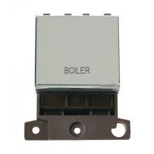 Click MiniGrid MD022CHBL Polished Chrome 20A DP Boiler Sw Module