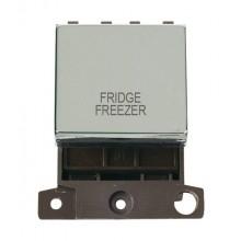Click MiniGrid MD022CHFF Pol/Chrome DP Fridge Freezer Sw Module