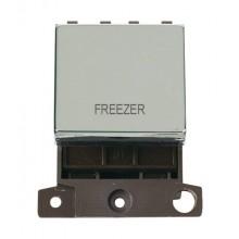 Click MiniGrid MD022CHFZ Polished Chrome 20A DP Freezer Sw Mod