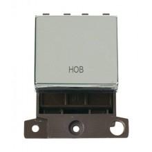 Click MiniGrid MD022CHHB Polished Chrome 20A DP Hob Switch Mod