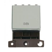 Click MiniGrid MD022CHOV Polished Chrome 20A DP Oven Sw Module