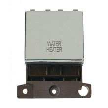 Click MiniGrid MD022CHWH Pol/Chrome 20A DP Water Heater Sw Mod