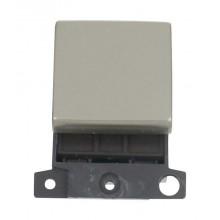 Click MiniGrid MD022PN Pearl Nickel 20A DP Switch Module