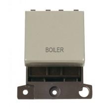 Click MiniGrid MD022PNBL P/Nickel 20A DP Boiler Sw Module