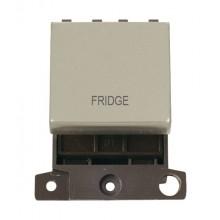 Click MiniGrid MD022PNFD P/Nickel 20A DP Fridge Sw Module