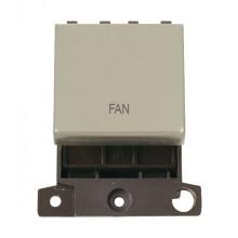 Click MiniGrid MD022PNFZ P/Nickel 20A DP Freezer Sw Module