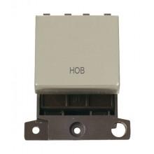 Click MiniGrid MD022PNHB P/Nickel 20A DP Hob Sw Module