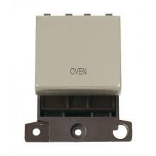 Click MiniGrid MD022PNOV P/Nickel 20A DP Oven Sw Module