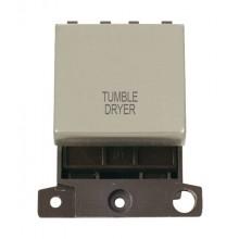 Click MiniGrid MD022PNTD P/Nickel 20A DP Tumble Dryer Sw Module