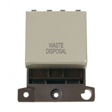 Click MiniGrid MD022PNWD P/Nickel 20A DP Waste Disposal Sw Mod