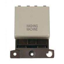 Click MiniGrid MD022PNWM P/Nickel 20A DP Washing Machine Sw Mod