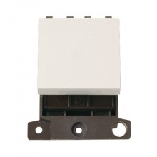 Click MiniGrid MD022PW Polar White 20A DP Switch Module