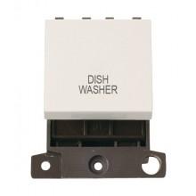 Click MiniGrid MD022PWDW Polar White 20A DP Dishwasher Sw Mod