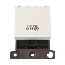 Click MiniGrid MD022PWFF Polar White DP Fridge Freezer Sw Module