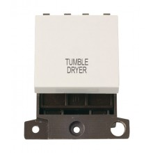 Click MiniGrid MD022PWTD Polar White 20A DP Tumble Dryer Sw Mod