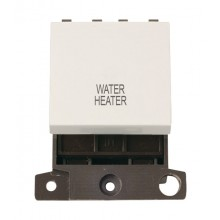 Click MiniGrid MD022PWWH Polar White 20A DP Water Heater Sw Mod