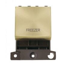 Click MiniGrid MD022SBFZ Satin Brass 20A DP Freezer Switch Mod
