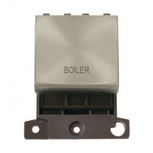 Click MiniGrid MD022SCBL Satin Chrome 20A DP Boiler Switch Mod